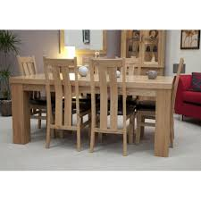 solid oak dining table with chairs with ideas gallery 12697 zenboa