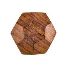 wood geometric geometric wood knob hobby lobby 1203793