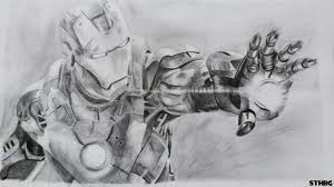 iron man pencil drawing by sonicthehedgehogbg on deviantart