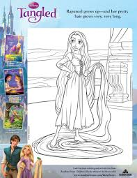 rapunzel coloring pages hellokids com