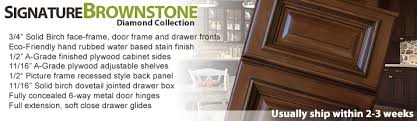 Signature Kitchen Cabinets Signature Brownstone Cabinetgiant Com Kitchen Cabinets Kitchen