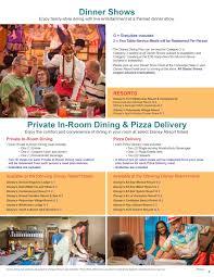 2017 disney dining plan brochures photo 15 of 15
