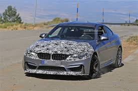 bmw modified bmw testing m4 facelift has modified front end and rides on m4
