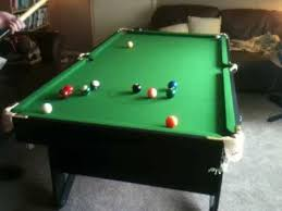 6 ft billiard table 6 ft bce lay flat snooker table youtube