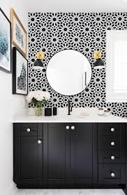 Monochrome Bathroom Ideas Colors Before And After An Affordable Black And White Bathroom Hexagon