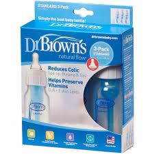 dr brown s original baby bottles 4oz 3 count walmart