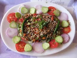 sprouts salad recipe by archana u0027s kitchen simple recipes
