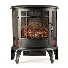 Electric Fireplace Stove Inch Heater Ventless Curved Electric Fireplace Stove