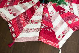 diy quilted tree skirt class the sewing loft