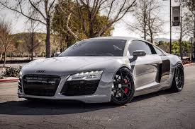 nardo grey lamborghini nardo grey audi r8 with hre p101 in satin black hre performance