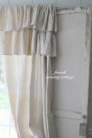 How To Make Ruffled Curtains Ruffle Curtain Panels Foter