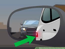 Blind Spot Mirror Where To Put 3 Ways To Reduce Glare When Driving At Night Wikihow