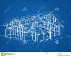 house blueprint stock illustration image 50772437