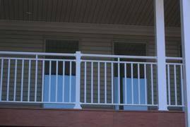 aluminum deck railings porch railing pickets handrail balusters