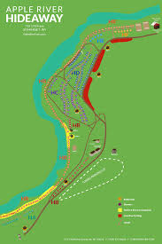 Wisconsin Campgrounds Map by Apple River Hideaway Campground And Tubing