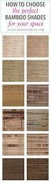 how to choose the perfect bamboo shades for your space just a