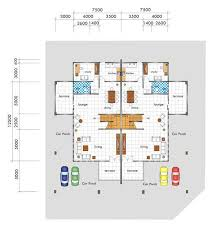 semi detached house floor plan myhouse com my house real estate and property for sale in kuching