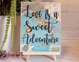 theme wedding decor travel theme wedding etsy