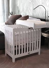 white mini crib with changing table amazon com stokke care changing table natural baby with regard to