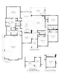 the del ray bryson manor new home floor plan ovilla texas clone