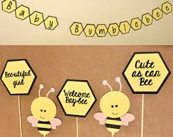 bumblebee decorations bee baby shower etsy