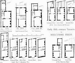 19th Century Floor Plans by Weymouth British History Online