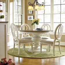 universal furniture summer hill 5 piece pedestal dining set with