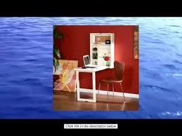 Fold Out Convertible Desk Southern Enterprises Fold Out Convertible Desk Winter White Youtube