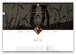Online Resumes Website by 30 Best Vcard Wordpress Themes 2017 For Your Online Resume Colorlib