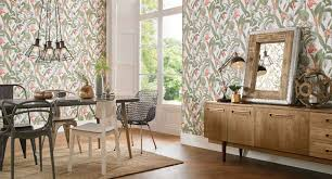 dining room wallpaper dining room feature wall ideas