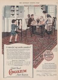 Home Decor Ads 1915 Congoleum Rug Advertisement Vintage Interiors And Bungalow