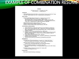 résumé and application letter