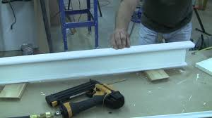 how to trim a craftsman style door pt 3 youtube
