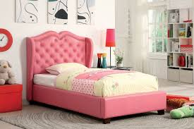 Pink Bed Frames View