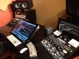 Home Studio Mixing Desk by Argosy Console Inc Studio And Technical Furniture