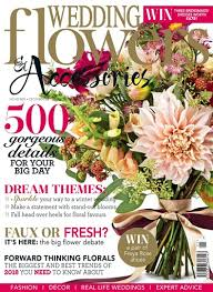 wedding flowers magazine wedding flowers magazine november december subscriptions