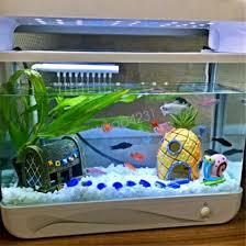 house fish tank aquarium ornament spongebob squidward