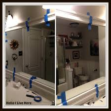 Framing Bathroom Mirror Ideas White Framing Bathroom Mirror Images And Photos Objects U2013 Hit