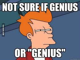 Genious Meme - genius or genius meme that s the question 9gag