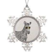 zebra sketch ornaments u0026 keepsake ornaments zazzle