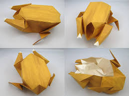 origami roast chicken by joseph wu