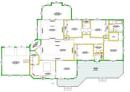 4 bedroom house plans one story noticeable large home corglife