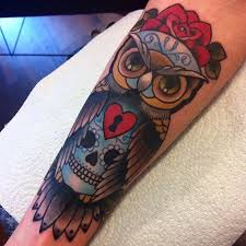 the 25 best colorful owl tattoo ideas on pinterest owl drawings