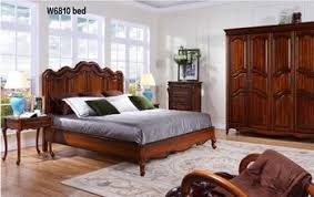 european king bed w6810 luxury european rococo style mohogany solid bed royal four