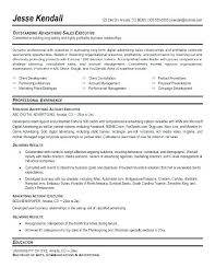 resume sles for advertising account executive description sle account executive cover letter senior advertising manager