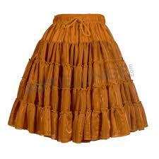 rock petticoat metallic gr uni kupfer u2013 jot jelunge onlineshop