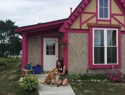 tiny cottages pink x pebble tiny houses u0026 a pup u2014news u2014boiceville cottages
