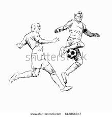 draw soccer player action stock illustration 402195460 shutterstock
