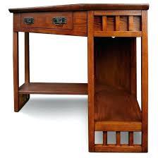 southern enterprises corner desk mission corner desk wood mission oak corner computer desk oak