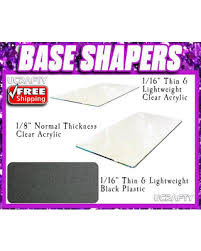 clear acrylic l base don t miss this bargain clear acrylic base shaper for lv louis